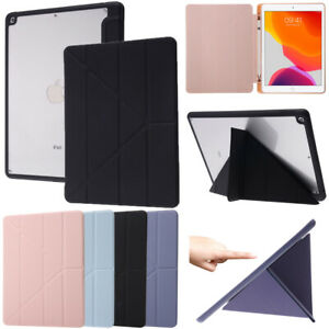 """Smart Leather Flip Stand Case Cover For iPad Air 9.7"""" 5 6 7 8 9th Gen 10.2"""" 2021"""