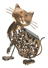 Smart Solar Metal Cat Light