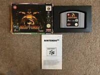 Mortal Kombat 4 BOXED (Nintendo 64 Game) PAL