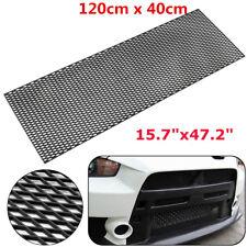 "47""X16"" Car Diamond Honeycomb Mesh Grill ABS Plastic Spoiler Front Bumper Vent"