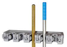 Gerätehalter bis zu 11st Geräteleiste Wandhalterung Gerätehalterung Besenhalter