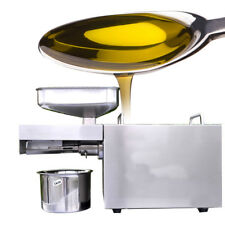 Stainless Steel Automatic Home Small peanuts Seed Oil Press Machine Presser