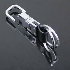 2Ring Creative Keyring Keychains Keyfob Gift Fashion Men Metal Car Key Chain