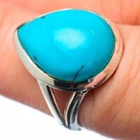 Tibetan Turquoise 925 Sterling Silver Ring Size 7 Ana Co Jewelry R28811F