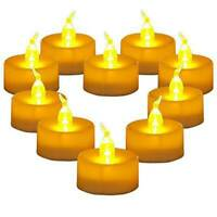 LED Tea Lights Candles Flameless Flickering Weeding Tealight Romantic LED LAMPS