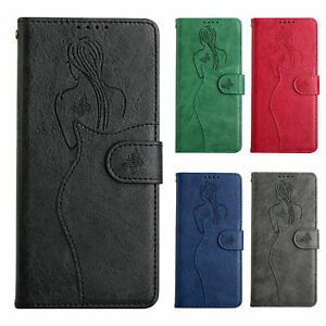 Lady Flip Wallet Leather Phone Case for Xiaomi 10 11 Lite Poco X3 NFC M3 F3 GT