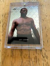 2011 JON JONES LEAF METAL PREVIEW BUY-BACK AUTOGRAPH CARD UFC ON CARD AUTO