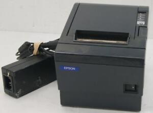 Epson TM-T88III M129C Thermal Receipt Printer Black W/Power Supply