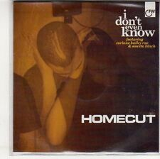 (EP3) Homecut, I Don't Even Know - 2009 DJ CD
