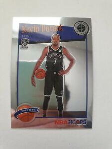 NBA 19-20 Kevin Durant Hoops Premium Tribute Card 🔥 Brooklyn Nets