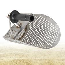 Sand Scoop Metal Detecting Hunting Tool Stainless Steel Beach Scoo 00004000 ps w/ Handle