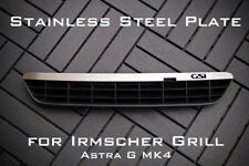 Stainless Steel PLATE FOR IRMSCHER GRILL ASTRA G mk4 - 'GSI'