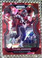 2020 Panini Prizm Tyler Johnson RC RED🔴CRYSTAL CRACKED ICE #321 MINT