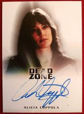 """THE DEAD ZONE - ALICIA COPPOLA (""""Jericho"""") as Anita / Nicholas - AUTOGRAPH Card"""