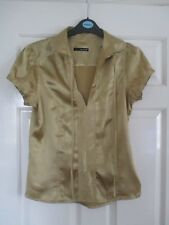 9315c84b Short Sleeve Blouses Gold Tops & Shirts for Women | eBay