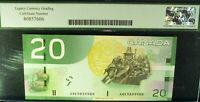 1935 $20 MYTHOLOGICAL CHARTERED BANKNOTE. CANADIAN BANK OF COMMERCE