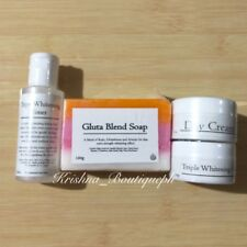 Triple Whitening Face Set with Glutathione, Arbutin and Kojic