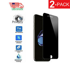 Privacy Anti-Spy Tempered Glass Screen Protector Black for iPhone 6 Plus 7 8 6s