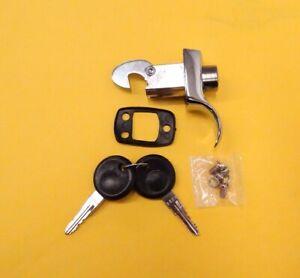 1967-1971 VW Bug Beetle Engine Hood Latch Decklid NEW Chrome with Keys 742
