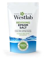 Westlab Wiederbelebung Epsom Badesalz 1000 G - 100% Natürliches Salz