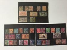 Lot   de timbres français anciens sous blister