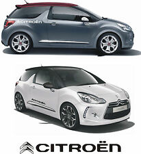 Citroen logo autocollants graphics decals ds3 c1 c2 c3 c4 ds4 ds5 cactus picasso -