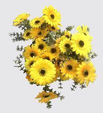 5x 9heads Artificial Sunflower Bouquet plactic Silk Bunch Wedding Home Decor