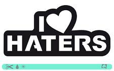 I Love Haters Sticker bombed Bomb OEM JDM DUB Static Low Hater ADESIVI