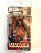 """MAURICE Dawn of the Planet of the Apes NECA 7"""" Orangutan Action Figure Sealed PK"""