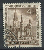 Berlin 1953 Mi. 106 Used 100% 4 + 1 Pf, reconstruction of the Church