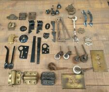 Antique Door Latches, drawer pulls, spring hinges, other miscellaneous hardware