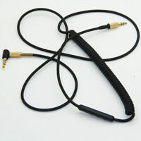 Replacement Headphone Cable For Marshall Monitor On Ear Pro Headphones with Mic