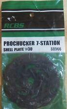 RCBS PROCHUCKER 7-Shell Plate #30-(88966)  NEW-in package