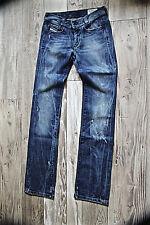 joli jeans used destroy bootcut femme DIESEL soozy taille W27 L32 008SV stretch