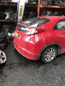 2012 Honda Civic For Breaking ad for wheel nut
