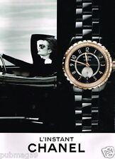 Publicité advertising 2015 La Montre L'Instant Chanel