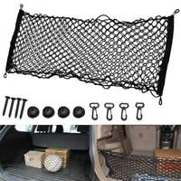 Nylon Mesh Vehicle Cargo Storage Elastic String Hook Net Catcher Car Accessory