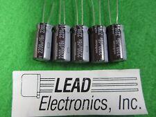 QTY5 NICHICON  2200uF 16V 105-DEG Radial Capacitor 2200MFD 16-VOLT 12.5MM X 25MM