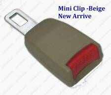 "Seat Belt Extender Extension Clip 7/8"" Buckle Beige color  Add 5 Inch"