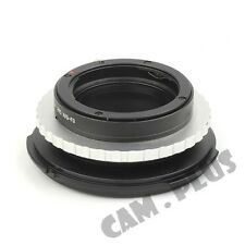 Camera Adapter For Nion F Mount G Lens to Sony FZ PMW-F3 F5 F55 Camcorder