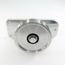 Aluminum Ac Idler Pulley Bracket System Fits 86 93 Mustang 50 Drag Mod