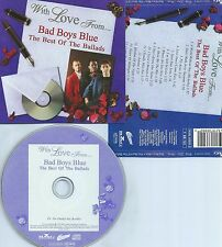 BAD BOYS BLUE-THE BEST OF THE BALLADS-1998-GERMANY-CD-MINT-
