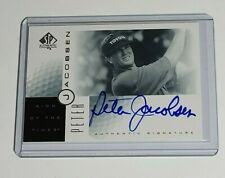 Peter Jacobsen Auto PGA 2001 SP Authentic Sign of the Times