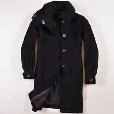 Mango Damen Mantel Jacke Coat Jacket Gr.S (DE34) Wolle Schwarz, 31594