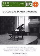 Classical Piano Masters-Mp 3 Doppel-CD, MP3 Audio ( Neu & OVP )