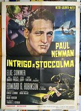 manifesto 2F film THE PRIZE Paul Newman Elke Sommer Edward G. Robinson 1964