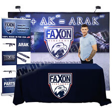Trade Show Pop Up Display Banner Stand Kiosk - 4 Meter Expo Package (EXP-4M-V02)