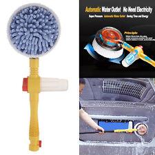 Portable Car Washer Foam Automatic Washing Brush Rotating Brush Auto Clean Tools