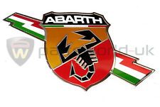 FIAT ABARTH 500, PUNTO GRANDE EVO Lightning SIDE ABARTH LOGO BADGE NUOVO ORIGINALE