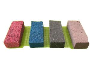 Hornby Triang N/OO/HO Gauge Track Cleaning Rubbers Rail Abrasive Cleaner Block
